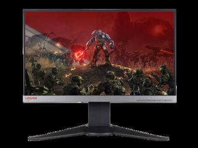 Sigue creciendo el catálogo de monitores pensados para jugadores con la llegada del Lenovo Legion Y25f