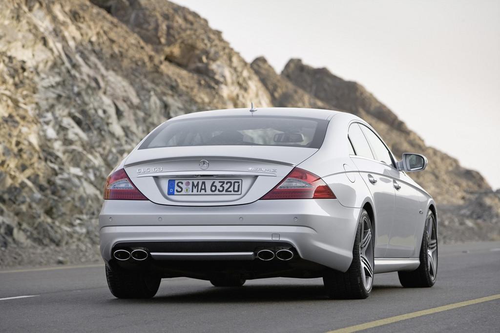 Foto de Mercedes-Benz Clase CLS 2008 (11/14)