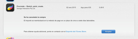 Devolución Apple