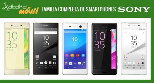 Así queda el catálogo de smartphones Sony tras la llegada de la nueva familia Sony Xperia X