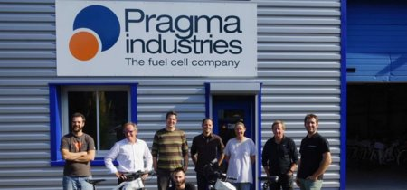 Alpha Bike llega desde Francia con pila de combustible de hidrógeno