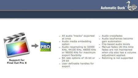 AutomaticDuck, cómo exportar OMF desde Final Cut Pro X a Pro Tools