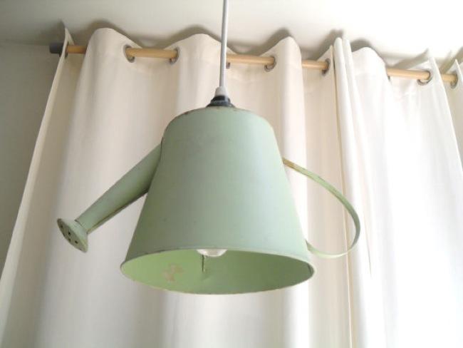 lampara regadera