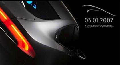 Teaser del Jaguar XF Concept