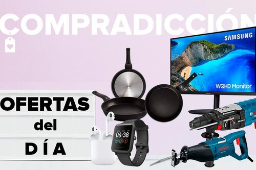 Ofertas del día en Amazon: auriculares AirPods de Apple, relojes Amazfit, monitores Samsung, herramientas Bosch, menaje WMF y cuidado personal Braun a precios rebajados
