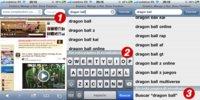 Cómo buscar en la página que estamos viendo con Safari en iOS 4.2