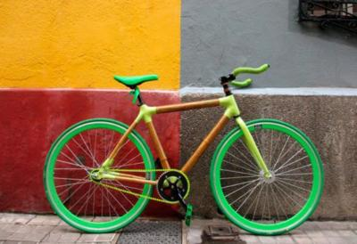 Las artesanas y exclusivas bicicletas de bambú personalizables de Bambu Campos Bikes