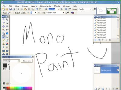 Paint.Mono: Paint.Net portado a Linux