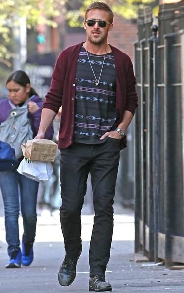 Consigue el look casual de Ryan Gosling