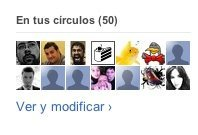 google plus circulos amigos