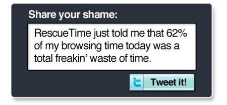 RescueTime Twitter