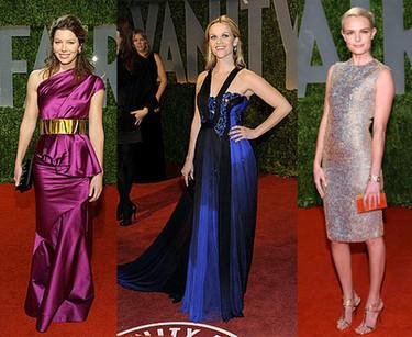 Las invitadas a la fiesta de Vanity Fair posterior a los Oscar's 2009