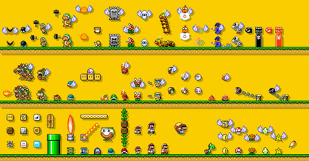 Super Mario Maker Objetos