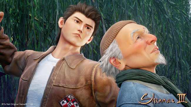 Las nuevas imágenes de Shenmue III revelan cómo han evolucionado las caras de los personajes