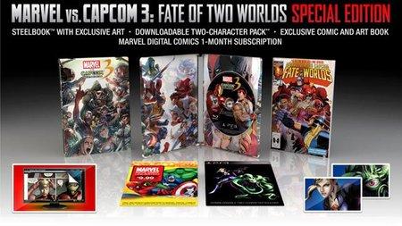 Revelada la edición coleccionista de 'Marvel vs. Capcom 3' (actualización: ¡ya hay fecha de salida!)