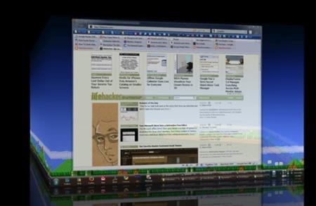 DeskHedron, múltiples escritorios y cambios en 3D