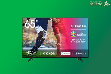 """Smart TV 4K de 65"""" por 559,99 euros en Amazon: Hisense 2020 65AE7000F rebajada a su precio mínimo histórico"""