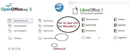 OpenOffice se queda sin desarrolladores porque se pasan a LibreOffice