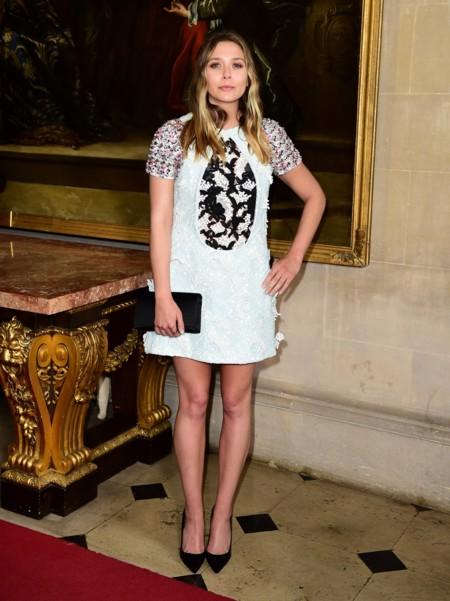 Los vestidos decorados triunfaron entre las invitadas al front row de Dior