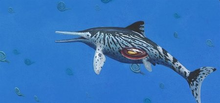Se encuentra el Ichthyosaurus más grande y es anterior a los dinosaurios