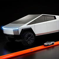 Hot Wheels se atreve con la Tesla Cybertruck y crea un aperitivo para impacientes de la pick-up eléctrica