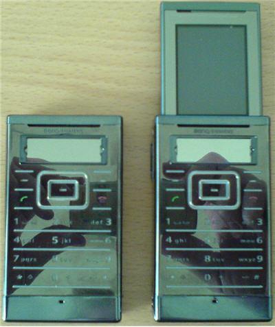 BenQ-Siemens SL98, ¿un móvil diferente?