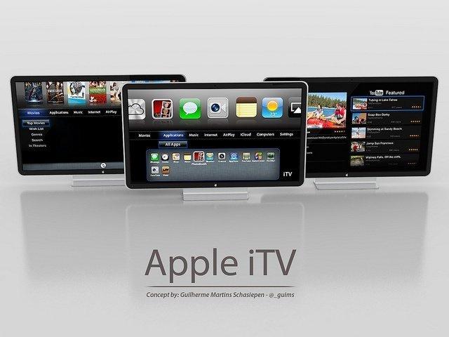 itb apple tv televisor concepto