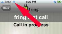 Como usar Fring sobre la red de datos 3G