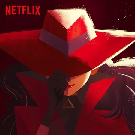 Teaser Poster Carmen Sandiego