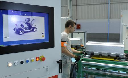 Fabricación del Renault Twizy en Valladolid