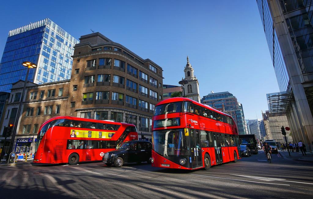 Autobuses Londres 02