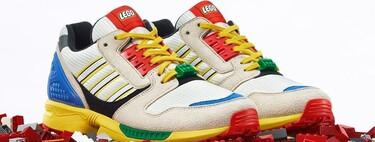 LEGO y adidas originals colaboran en la más divertida y colorida zapatilla que querrás lucir en otoño