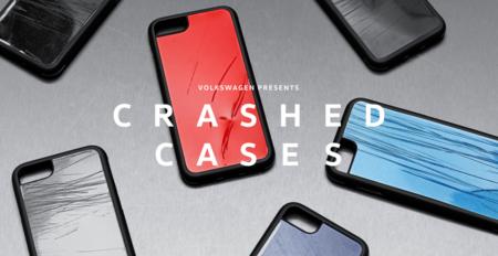 Fundas hechas con restos de vehículos accidentados: una nueva forma de concienciar contra el uso del móvil al volante