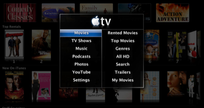 Actualización del Apple TV 2.0.1 ya disponible