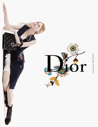 La pureza de Dior es en blanco y con tres aspirantes a top: Julia Nobis, Natalie Westling y Lexi Boling
