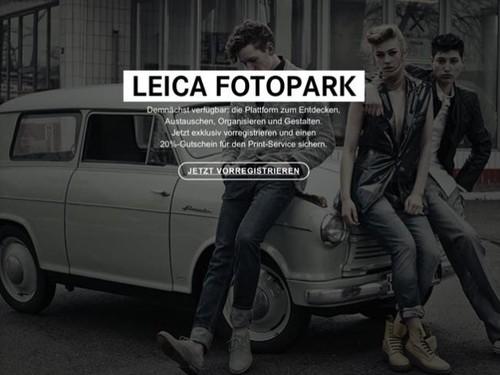 Leica apuesta por el almacenamiento on-line con Fotopark, y pretende plantar cara a Irista, 500px y compañía