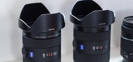 Sony sigue apostando por la montura A: los dos nuevos objetivos Zeiss lo demuestran