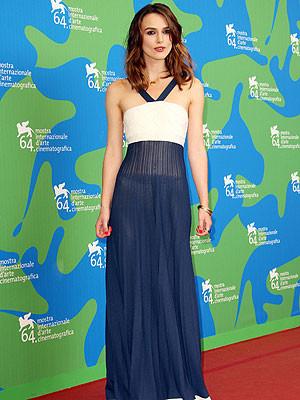 Keira Knightley de Chanel en el Festival de Venecia