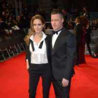 Angelina Jolie BAFTA 2014