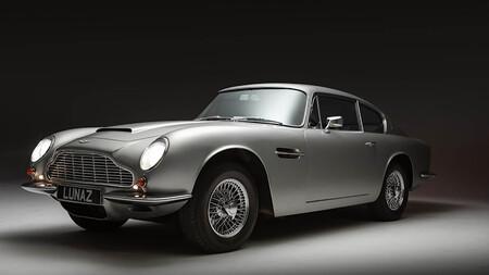 Lunaz Aston Martin DB6 eléctrico