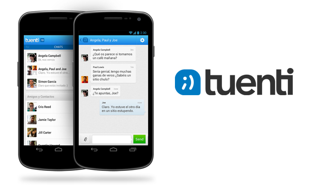 Tuenti Social Messenger Groups