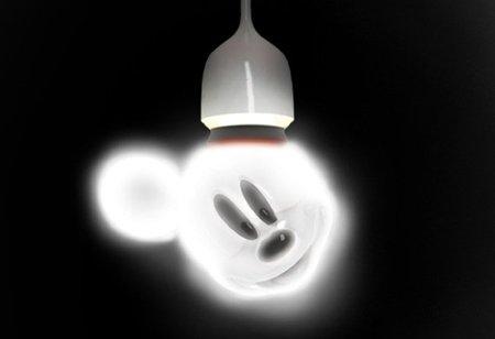 Bombilla Mickey Mouse para la habitación infantil