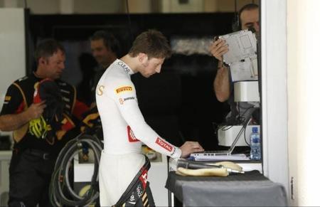 Romain Grosjean no está seguro de permanecer en Lotus