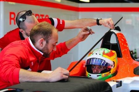 GP Malasia F1: Roberto Merhi, los tres pilotos españoles y la lluvia