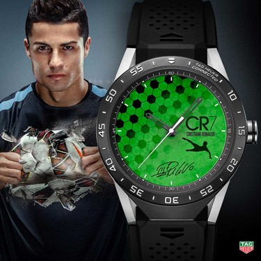 La esencia de Cristiano Ronaldo, David Guetta o Tom Brady en un reloj TAG Heuer