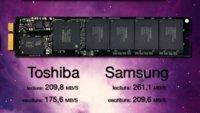 Apple cambia el disco SSD de Toshiba por modelo más rápido de Samsung para el MacBook Air