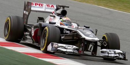 Pastor Maldonado y Williams. El primer punto de la temporada
