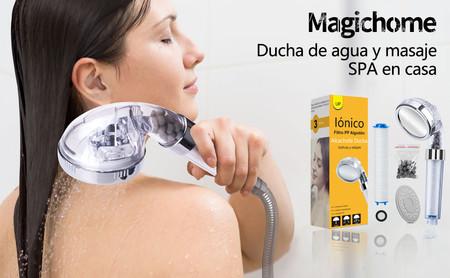 El cabezal de ducha más vendido de Amazon incorpora sistema de filtrado y hoy puedes comprarlo a mejor precio con este cupón