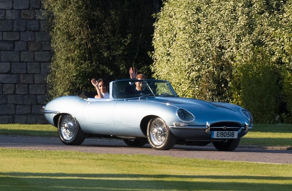 Harry y Meghan Jaguar E-Type Zero concept