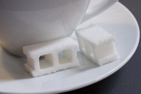 Ladrillos de azúcar
